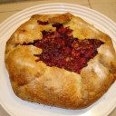 Cranberry Walnut Galette
