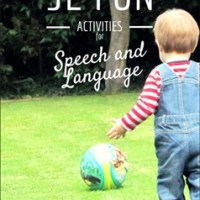 52 Fun Activities for Speech and Language review