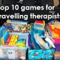 Top 10 games for a travelling therapist