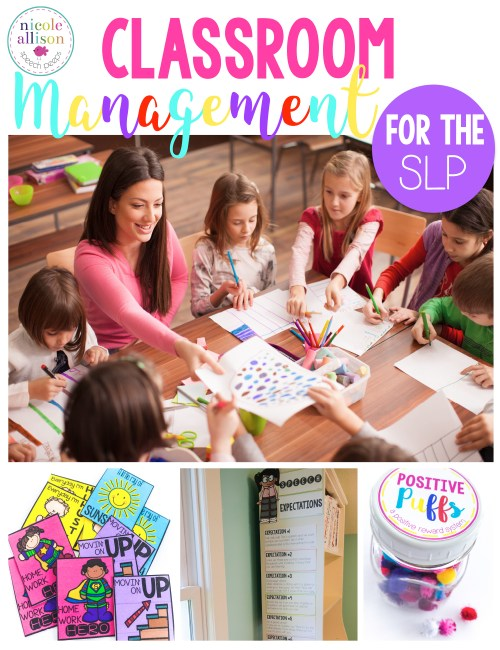 Classroom Management Ideas for the SLP