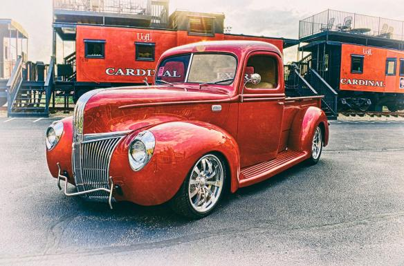 Larry Burchett's 1941 Ford Pickup Build #2