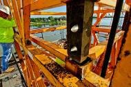 Crane Mast Connector detail #2