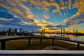 Waterfront Park Ramp and Sunset #1