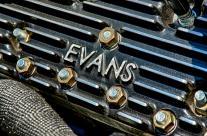 Evans Finned Aluminum Heads on a 1949 Mercury Flathead Engine. #2