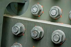 DTI Squirters after bolt tensioning.