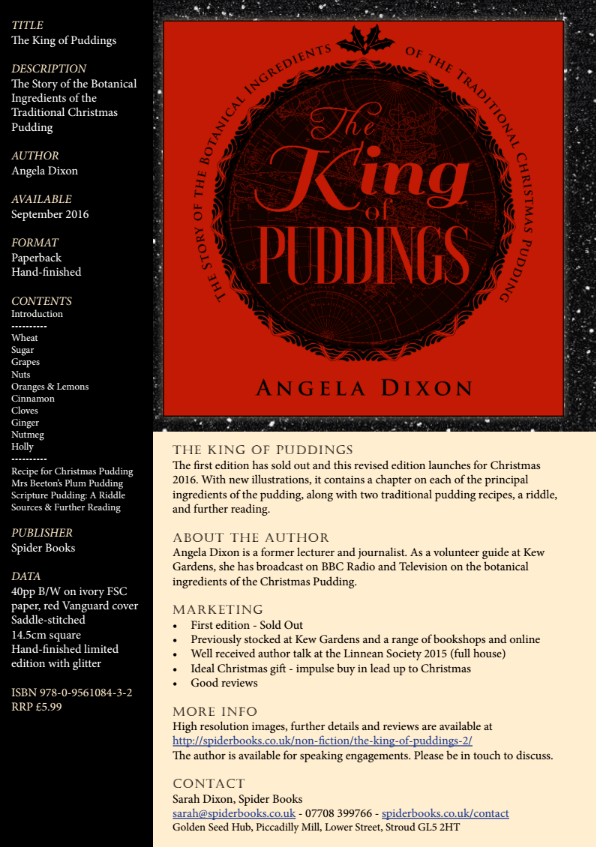 The King of Puddings - Information for Retailers