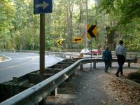 Leaving Cunningham Falls
