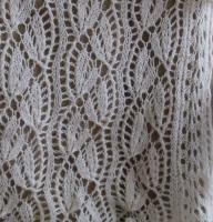 a bit of laceknitting–Jaggerspun Zephyr