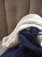 Knitpicks Bare, Robert\'s medicine blanket