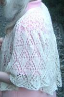 Constance shawl, back