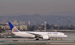 United flight 958 blunder