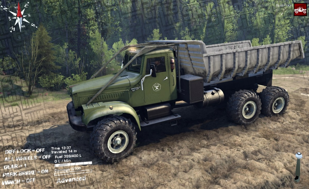ST14 - KRAZ 255B / 256B with addons