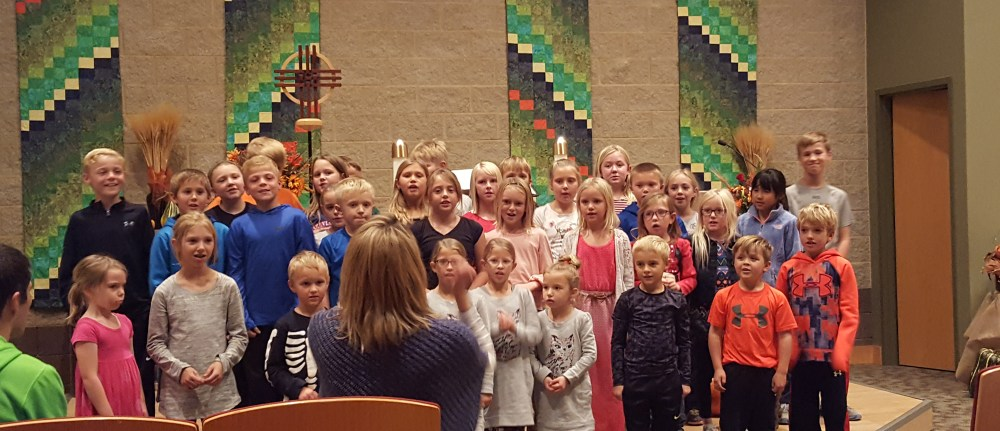 Story of the Week – Wednesday Sprouts Sing in Worship