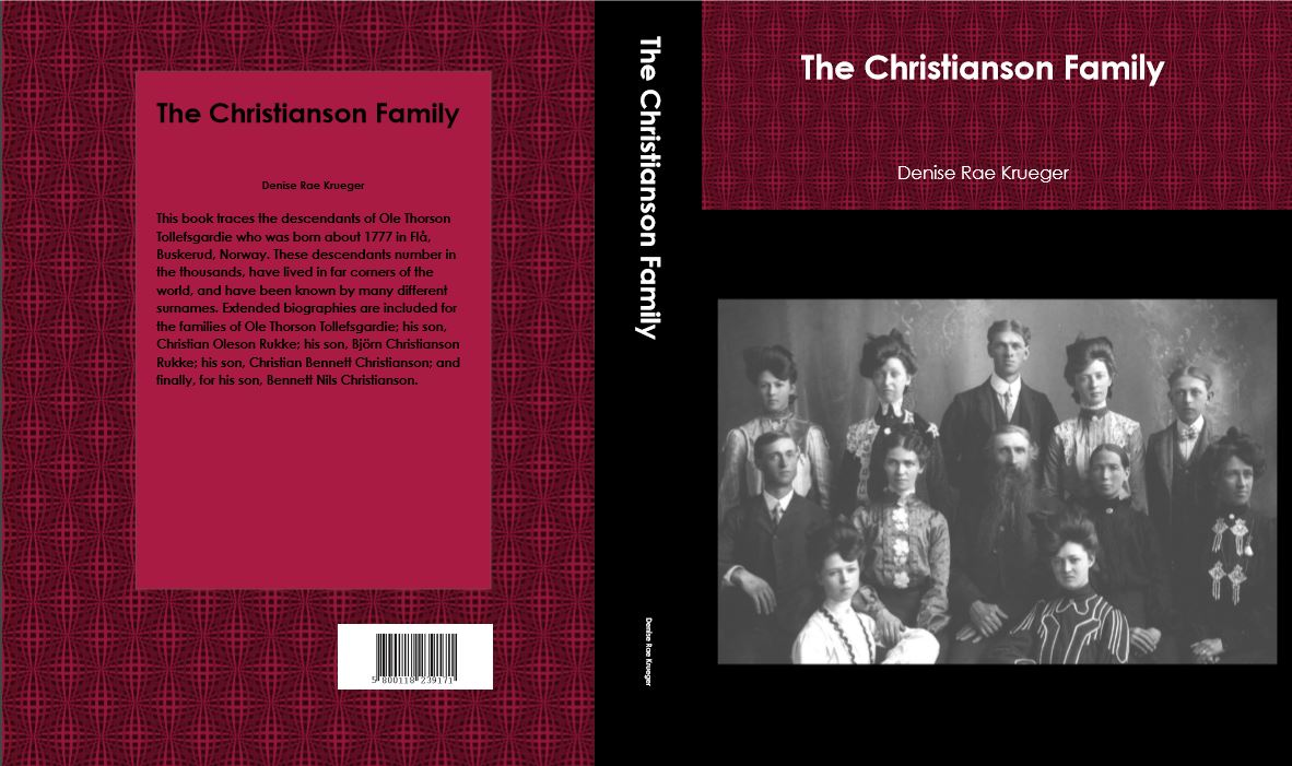 The Christianson book is ready!