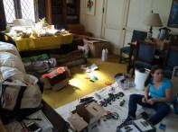 Sorting, organizing, packing