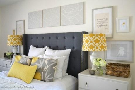 Βάλτε το κρεβάτι σας σε τέτοια θέση ώστε να έχει πλάτη στον τοίχο.