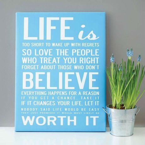Τα quotes πέρα ααπό πηγή έμπνευσης, θα δώσετε απαράμιλλο στιλ στο σπίτι σας.