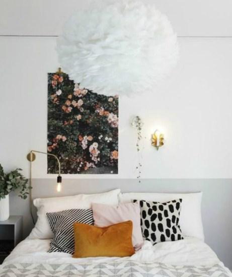 Βάλτε φλοράλ στον τοίχο σας.