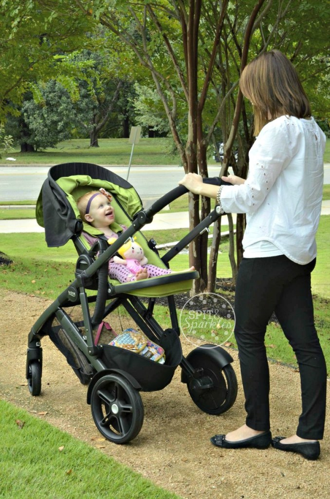 Britax B Ready, stroller review, Britax, Spit and Sparkles, Austin Moms Blog, Steffany Duke
