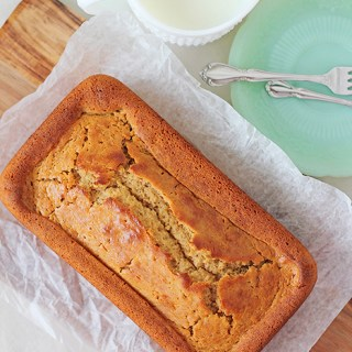 Like living in a pancake: Maple yogurt pound cake
