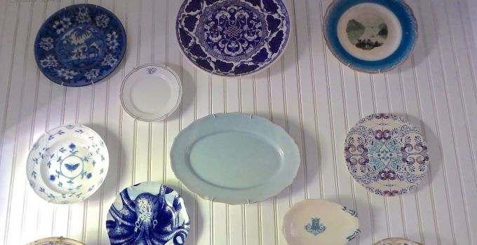 The Great wall of Blue and White China…