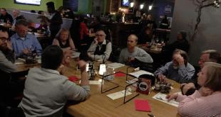 SpokaneFAVS' Pub Talk was held at Veraci Pizza in February/Tracy Simmons - SpokaneFAVS