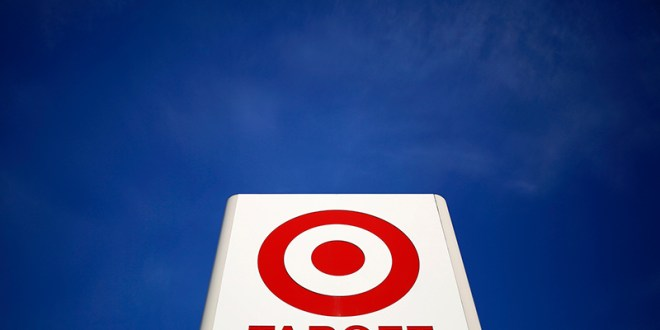A sign for a Target store is seen in the Chicago suburb of Evanston, Illinois, on February 10, 2015. Photo courtesy of REUTERS/Jim Young *Editors: This photo may only be republished with RNS-TARGET-BOYCOTT, originally transmitted on April 25, 2016.