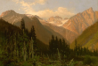 At the Rogers Pass, a painting by John A. Fraser