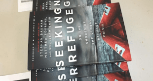 """""""Seeking Refuge"""" is suggested reading for the free events open to the public/Lindsey Treffry - SpokaneFAVS"""