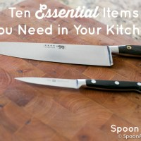 Top 10 Kitchen Essentials