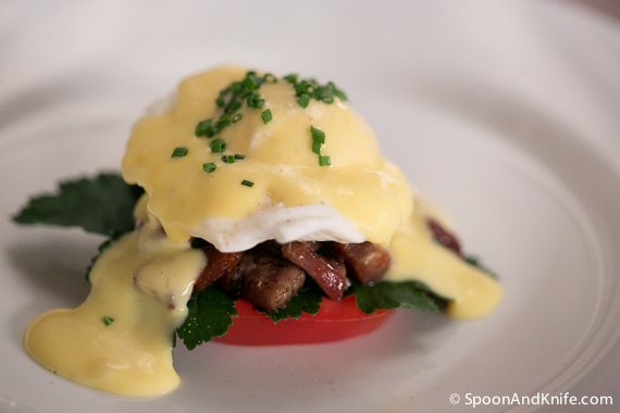 The Benny BLT - Gluten Free Eggs Benedict BLT