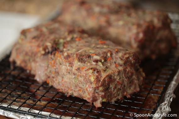 Gluten-Free Meat Meatloaf. Meatloaf with Bacon. Yes, BACON.
