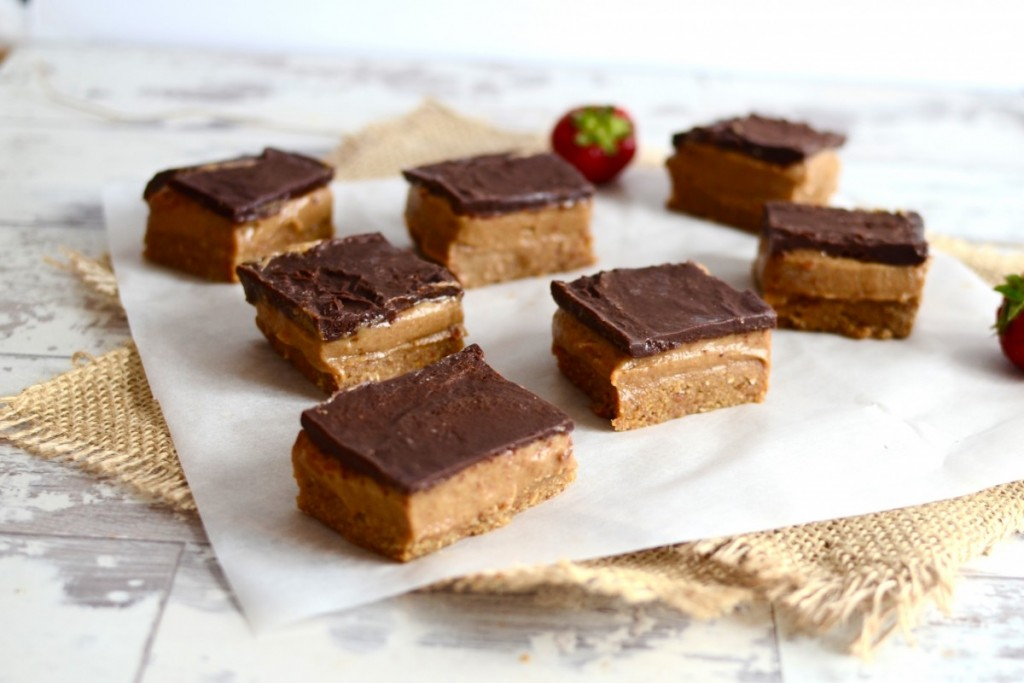 Healthy Raw Millionaires Shortbread