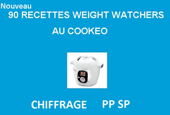 90 recettes cookeo weight watchers