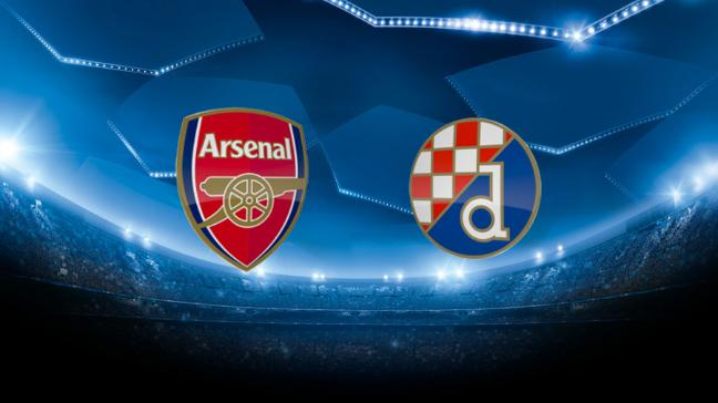 Arsenal's Champions League hopes are still alive after they eased to victory against Dinamo Zagreb at Emirates Stadium.