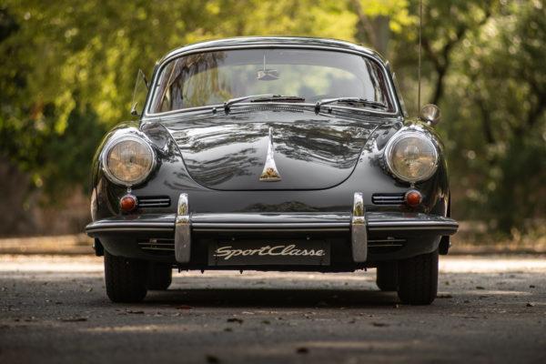Porsche 356 C Coupe Cinza_-7
