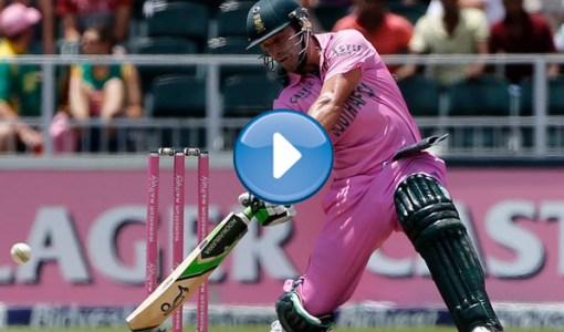 AB De Villiers Fastest Century 31 Balls [Video]
