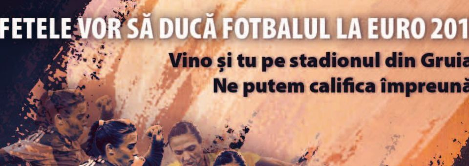 Federația Română de Fotbal și SportInCluj te trimit să le vezi pe fetele de aur ale Naționalei Feminine de Fotbal!