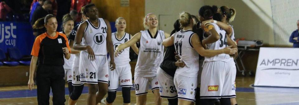 Baschet feminin: U Cluj primește vizita Olimpiei CSU Brașov
