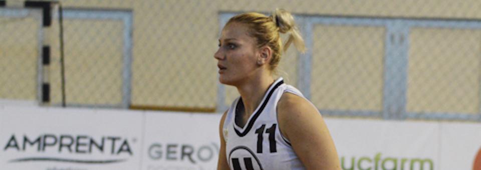 Clujeanca Gabriela Irimie a fost convocată la naționala de baschet feminin
