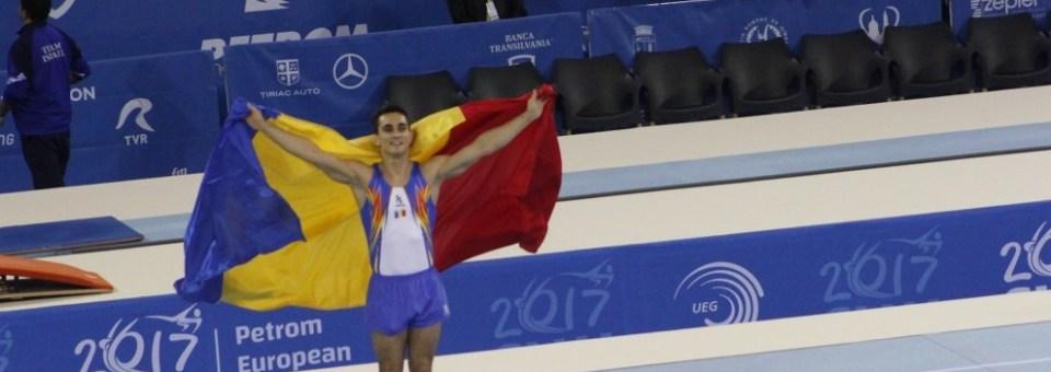 Marian Drăgulescu a adus  României prima medalie la Campionatele Europene de gimnastică artistică de la Cluj-Napoca