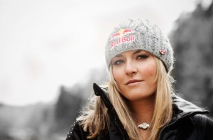 Lindsey Vonn has taken a step away from her sport as of late, but it's no debate that she's at the top of her game. (Photo: RedBullUSA.com)