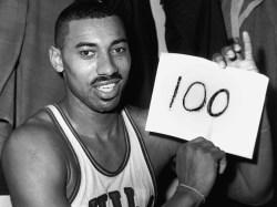 Wilt Chamberlain 100 puntos
