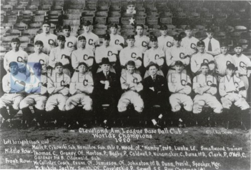 Cleveland Indians, 1920