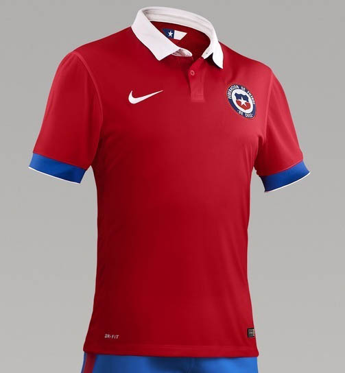 Chile Home Kit for Copa America 2016