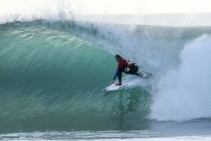 """Mick Fanning of Australia (pictured) after his round one victory at the JBay Open in South Africa on Wednesday July 6, 2016. PHOTO: &copy; WSL/ Cestari SOCIAL:<a href=""""http://twitter.com/wsl"""" target=""""_blank"""" rel=""""nofollow"""" data-recalc-dims=""""1"""">@wsl</a> <a href=""""http://twitter.com/kc80This"""" target=""""_blank"""" rel=""""nofollow"""">@kc80This</a> image is provided by the Association of Surfing Professionals LLC (""""World Surf League"""") royalty-free for editorial use only. No commercial rights are granted to the Images in any way. The Images are provided on an """"as is"""" basis and no warranty is provided for use of a particular purpose. Rights to individuals within the Images are not provided. The copyright is owned by World Surf League. Sale or license of the Images is prohibited. ALL RIGHTS RESERVED."""