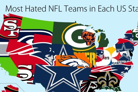 united states map of most hated nfl teams sportsnaut.com