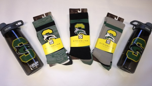 Shoreline Athletics Selling Water Bottles & Socks