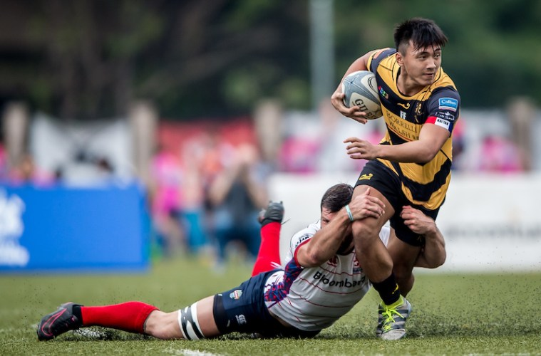 rugbypass.com Men's Premiership league 2016-2017 Round 10 - Borrelli Walsh USRC Tigers vs Bloomberg HK Scottish