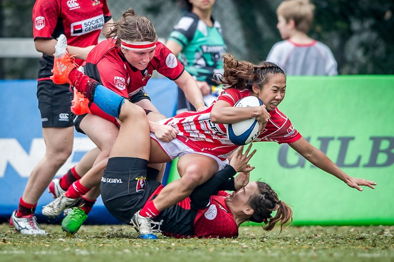 HKRU Domestic League 2016-2017 Grand Championship Finals at Kings Park Sports Ground, Kowloon, Hong Kong on 4 March 2017, Hong Kong, China   Photo by : Ike Li / ikeimages